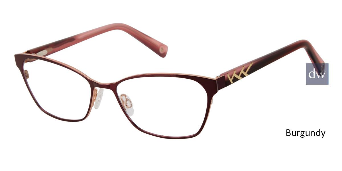 Burgundy Brendel 922059 Eyeglasses