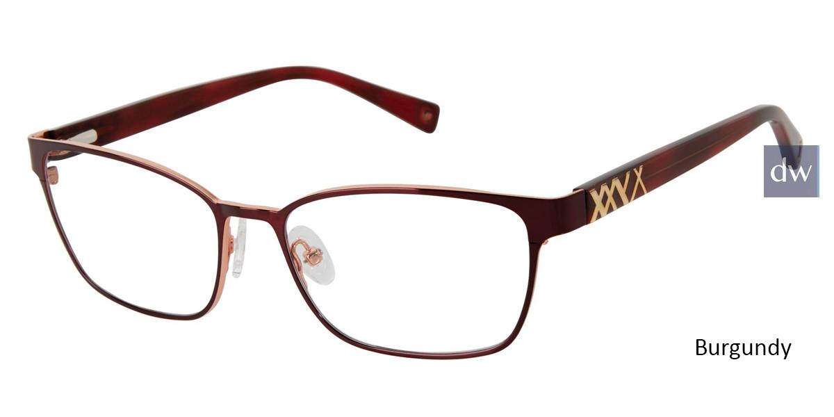 Burgundy Brendel 922061 Eyeglasses