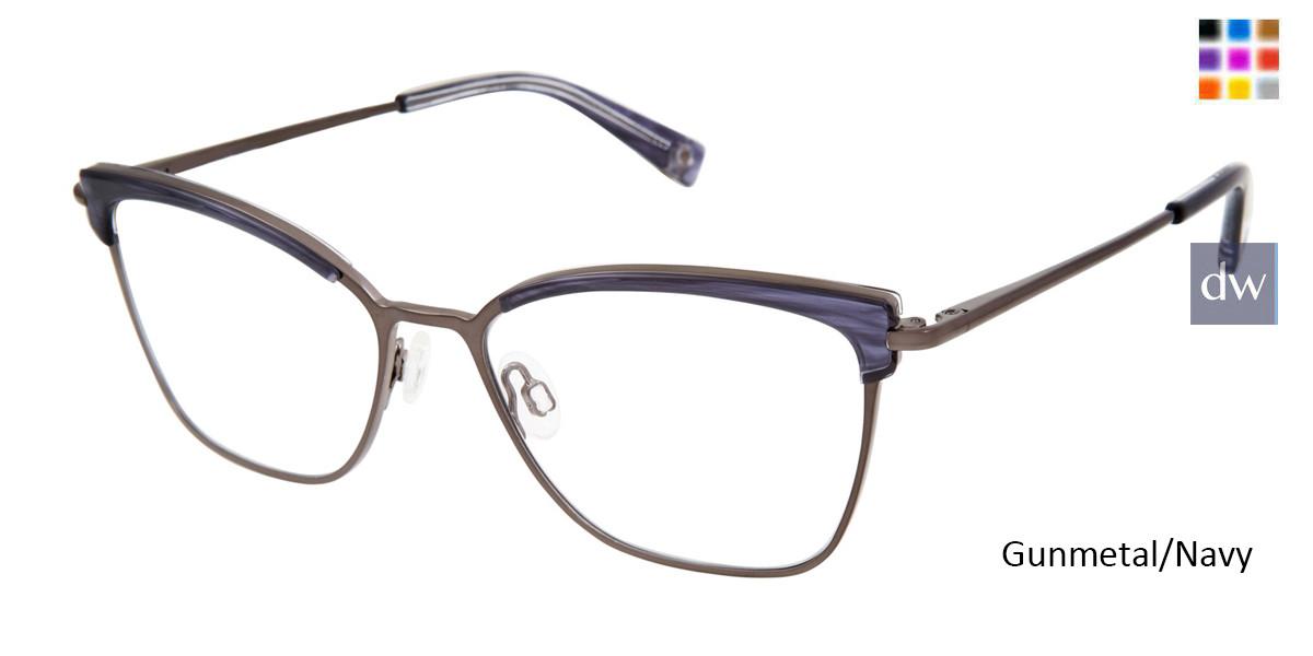 Gunmetal/Navy Brendel 922063 Eyeglasses
