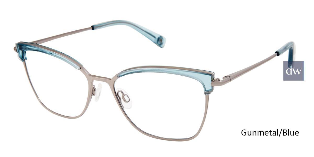 Gunmetal/Blue Brendel 922063 Eyeglasses