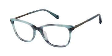 Teal Horn Brendel 924031 Eyeglasses
