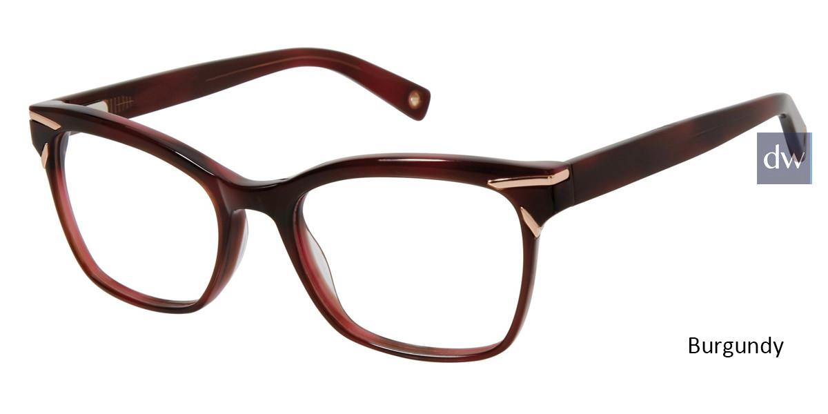Burgundy Brendel 924033 Eyeglasses