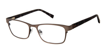 Dark Gunmetal Ted Baker TM500 Eyeglasses.