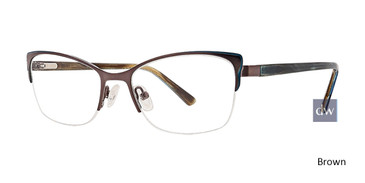 Brown Xoxo Tybee Eyeglasses.