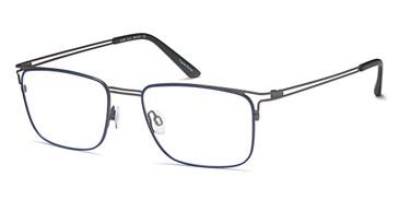Grey/Blue BIGGU B789 Eyeglasses.