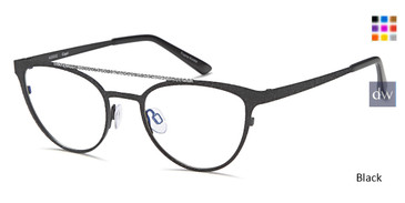 Black Capri AG5032 Eyeglasses.