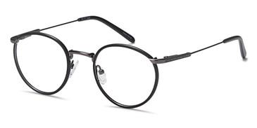 Black/Gunmetal Capri DC171 Eyeglasses - Teenager.