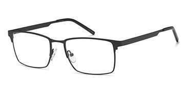 Black Capri FX110 Eyeglasses.