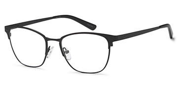 Black Capri FX111 Eyeglasses.