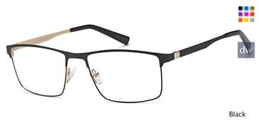 Black Capri GR811 Eyeglasses.
