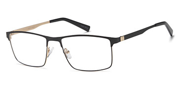 Black Capri GR811 Eyeglasses.