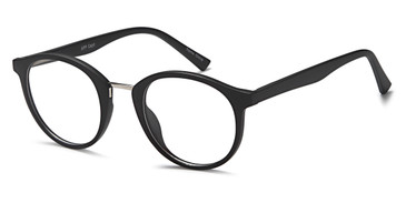 Black Capri Millennial APP Eyeglasses - Teenager.