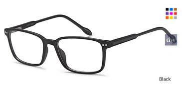 Black Capri Chat Eyeglasses.