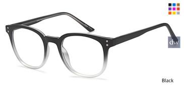 Black Capri OMG Eyeglasses - Teenager.