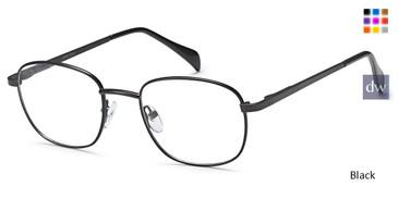 Black Capri PT95 Eyeglasses - Teenager.
