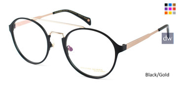Black/Gold William Morris Black Label BLSHAKESPEARE Eyeglasses
