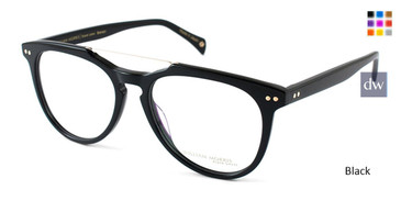 Black William Morris Black Label BLBRANSON Eyeglasses