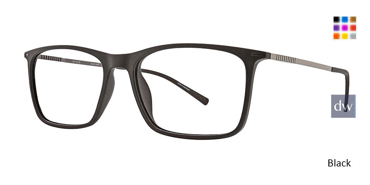 Black Argyleculture Amos Eyeglasses.