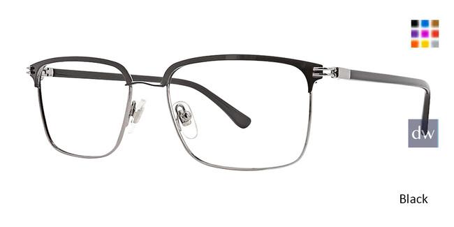 Black Argyleclture Goodman Eyeglasses.