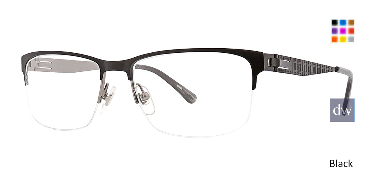 Black Argyleclture Hawkins Eyeglasses.