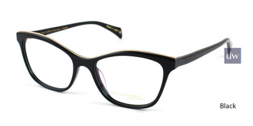 Black William Morris Black Label BLVIVIENNE Eyeglasses