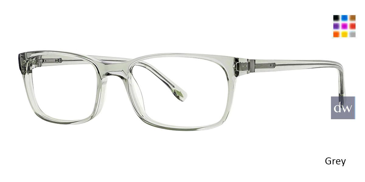 Grey Argyleclture Webster Eyeglasses.