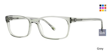 Grey Argyleclture Webster Eyeglasses.