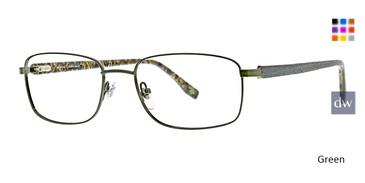 Green Ducks Unlimited Longleaf Eyeglasses.
