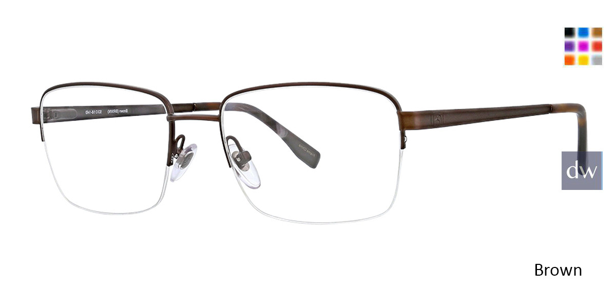 Brown Ducks Unlimited Roswell Eyeglasses.