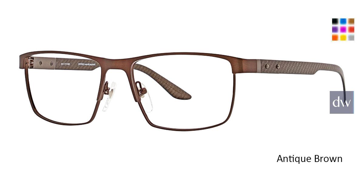 Antique Brown Ducks Unlimited Spear Eyeglasses.