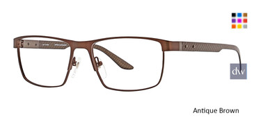 Antique Brown Ducks Unlimited Spear Eyeglasses.