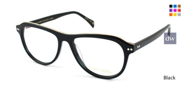 Black William Morris Black Label BLDICKENS Eyeglasses