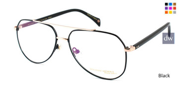 Black William Morris Black Label BLWILLIAM Eyeglasses