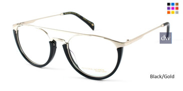Black/Gold William Morris Black Label BLSADE Eyeglasses