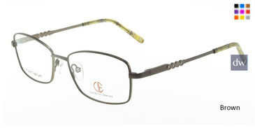 Brown CIE SEC323T Eyeglasses