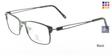 Black CIE SEC326T Eyeglasses.