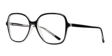 Black Luna_Tortoise Affordable Designs Luna Eyeglasses