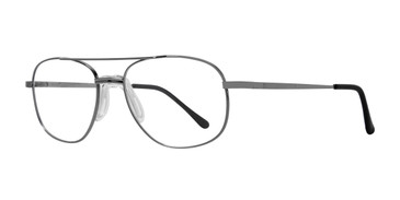 Gunmetal Affordable Designs Sol (55) Eyeglasses