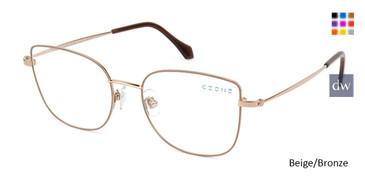 Beige/Bronze C-Zone Q2233 Eyeglasses.