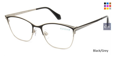 Black/Grey C-Zone Q2237 Eyeglasses.