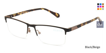 Black/Beige C-Zone Q5204 Eyeglasses.