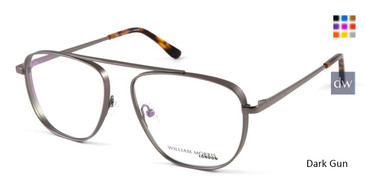 Dark Gun William Morris London WM50108 Eyeglasses.