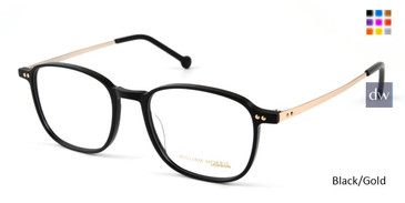 Black/Gold William Morris London WM50110 Eyeglasses.