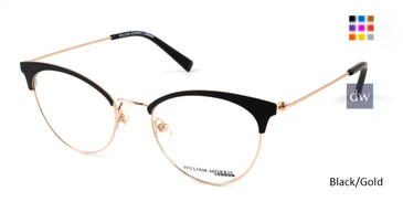 Black/Gold William Morris London WM50120 Eyeglasses.