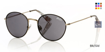 Blk/Gld Superdry Enso Sunglasses - Teenager.
