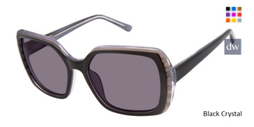 Black Crystal L.A.M.B. LA559 Sunglasses.