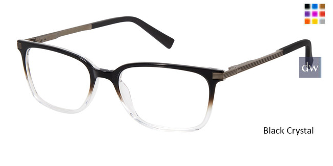 Black Crystal Ted Baker TFM001 Eyeglasses
