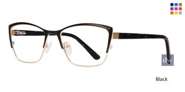 Black Serafina Cali Eyeglasses