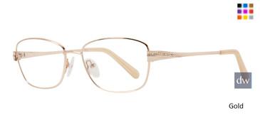 Gold Serafina Esther Eyeglasses