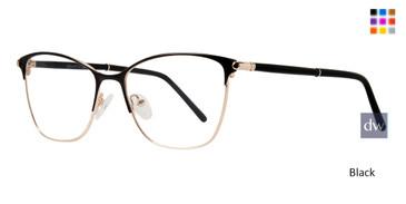 Black Serafina Mason Eyeglasses
